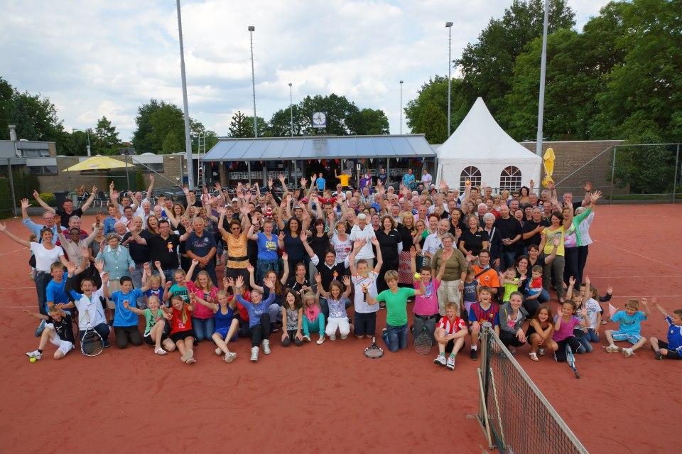 Groepsfoto Lustrum 2012